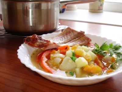 Фоторецепт: суп гороховый с жидким дымом - 08_sup_gorohovyj.jpg