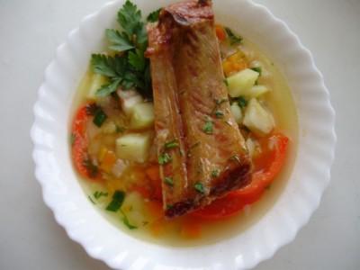 Фоторецепт: суп гороховый с жидким дымом - 10_sup_gorohovyj.jpg