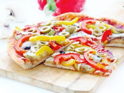 Пицца постная или сырная на пресном тесте - 4.JPG