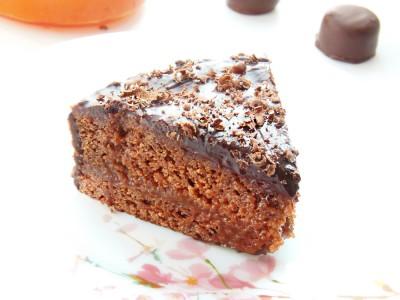 Шоколадный торт с абрикосовой прослойкой - 3.JPG
