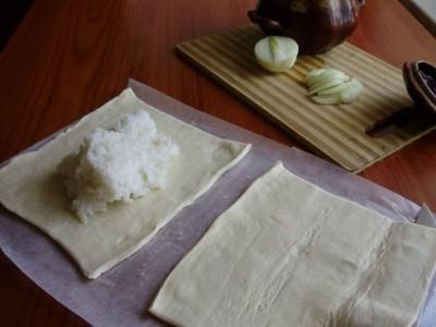 Слоеный пирог с рисом - P5134140.JPG