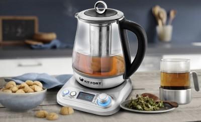 Чайник Kitfort KT-646 с функцией заварки чая и приготовления йогурта - 10.jpg
