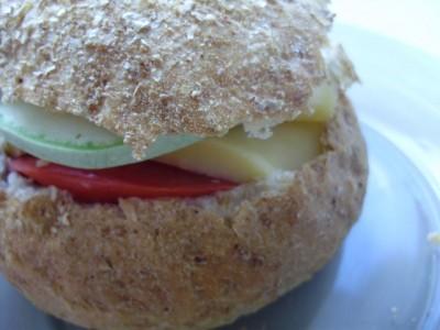 Запеченный хлебец - P6064516.JPG