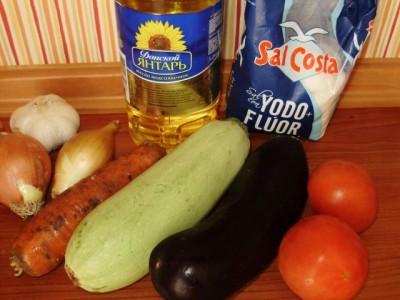 Овощное рагу с баклажанами и кабачком - P5012994.JPG