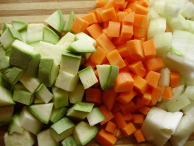 Овощное рагу с баклажанами и кабачком - P5013020.JPG