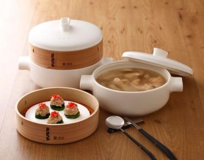 Пароварка из керамики и бамбука - steamer-set-by-jia-inc1.jpg
