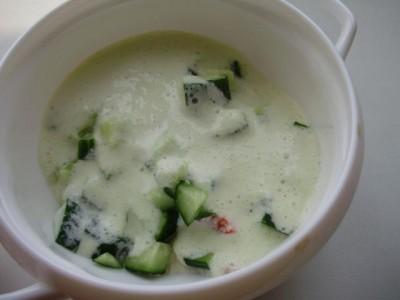 Раздельное питание: суп с яйцом - P6215123.JPG