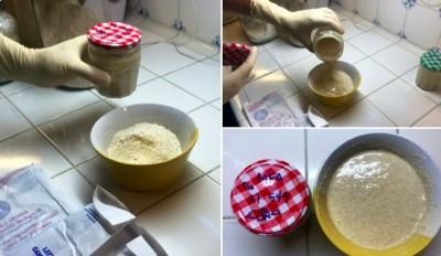 Хлеб по древнеегипетскому рецепту на 4000-летних дрожжах - 9.JPG