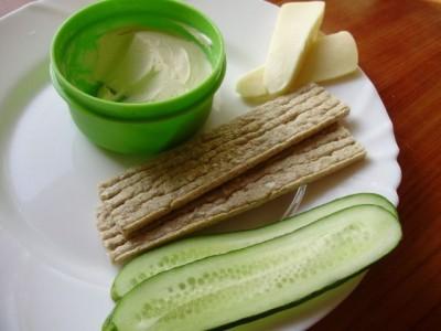 Раздельное питание: салат бутерброд - P6235189.JPG