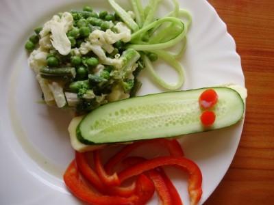 Раздельное питание: салат бутерброд - P6235223.JPG
