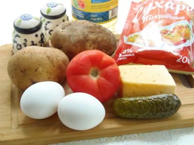 Картофельные «котлетки» с грибной начинкой - 1.JPG