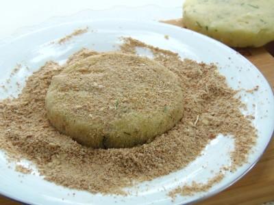 Картофельные «котлетки» с грибной начинкой - 5.JPG