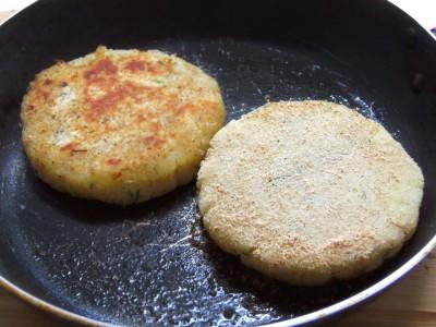 Картофельные «котлетки» с грибной начинкой - 6.JPG