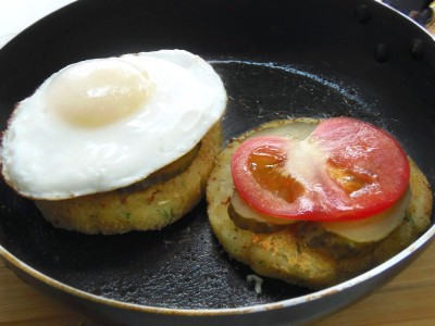 Картофельные «котлетки» с грибной начинкой - 8.JPG