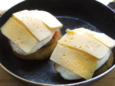 Картофельные «котлетки» с грибной начинкой - 9.JPG