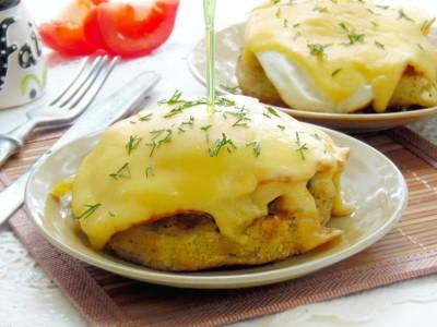 Картофельные «котлетки» с грибной начинкой - 10.JPG