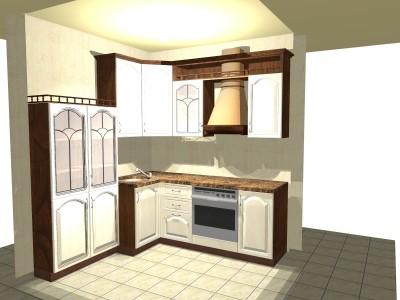Кухня с большим окном низким подоконником - 663810.jpg