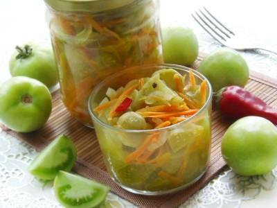 Салат из зеленых помидоров - 6.JPG