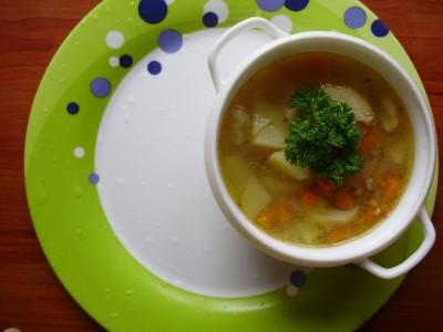 Фоторецепт: постный суп с вешенками и гречкой - P6245284.JPG
