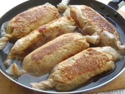 Домашние куриные колбаски в пергаменте - 12.JPG