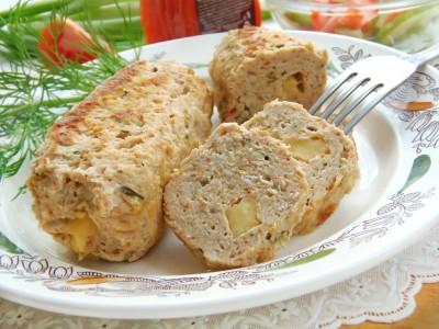 Домашние куриные колбаски в пергаменте - 13.JPG