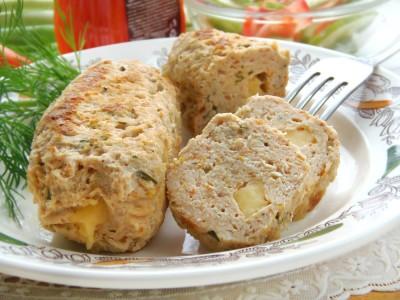 Домашние куриные колбаски в пергаменте - 14.JPG