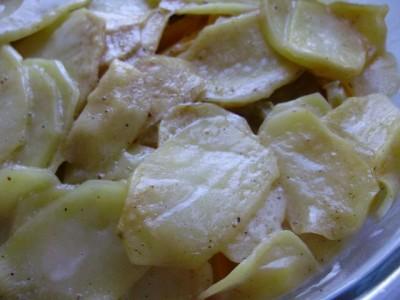 Овощная запеканка с картофелем и майонезом - P6195067.JPG