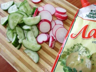 Овощная запеканка с картофелем и майонезом - P6195050.JPG
