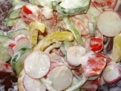 Овощная запеканка с картофелем и майонезом - P6195070.JPG