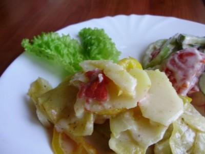 Овощная запеканка с картофелем и майонезом - P6195078.JPG
