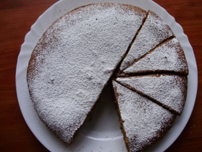 Простой фруктовый пирог - P8026304.JPG