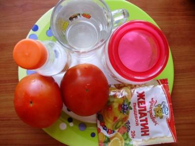 Закуска помидоры в желе  - P1016383.JPG