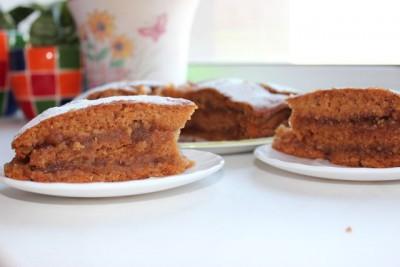 Яблочный торт-пирог - IMG_0488.JPG