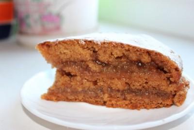 Яблочный торт-пирог - IMG_0491.JPG