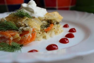 Овощная запеканка с сыром и сметаной - IMG_1220.JPG