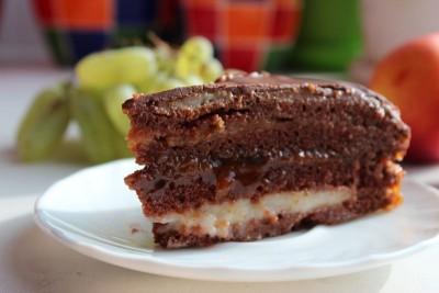 Шоколадный торт с абрикосовой прослойкой - 02_shokoladnyj_tort_s_abrikosovoj_proslojkoj.jpg
