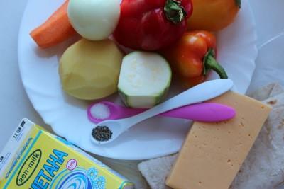 Запеканка из лаваша овощная по типу лазаньи - IMG_1699.JPG