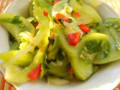 Салат из зеленых помидоров - DSCN1051.JPG