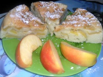 Шарлотка яблочная - шарлотка с яблоками.jpg