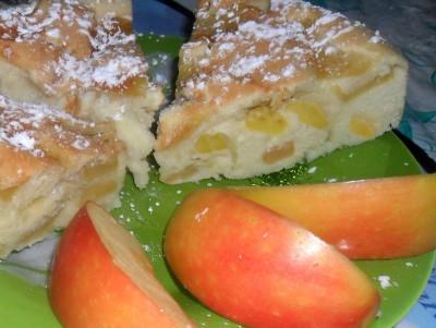 Шарлотка яблочная - яблочная шарлотка.jpg