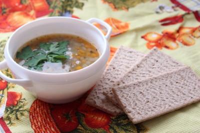 Суп с чечевицей фото рецепт  - IMG_6472.JPG