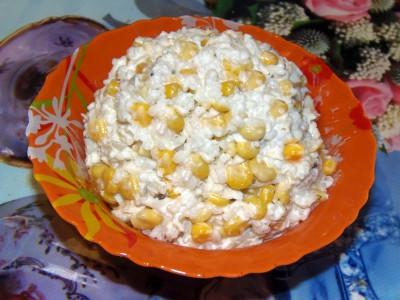 Салат с рисом и рыбкой - Салат.JPG