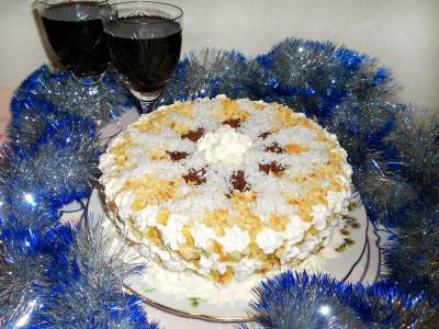 Новогодний тортик на сковороде - DSCN3348.JPG