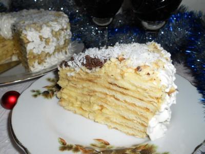 Новогодний тортик на сковороде - DSCN3383.JPG