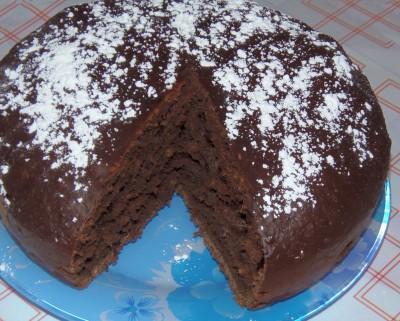 Свекольно-шоколадный пирог - пирог.JPG