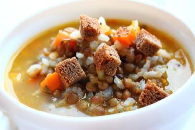 Суп с чечевицей фото рецепт  - IMG_7324.JPG