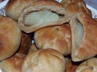 Яблоки в тесте - булочки с яблоками.JPG
