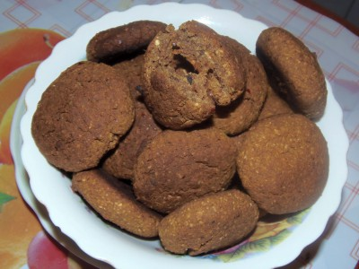Овсяное печенье без сахара - 1.JPG
