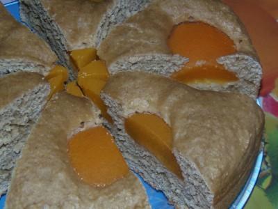 Пирог овсяный с абрикосами - 3.JPG