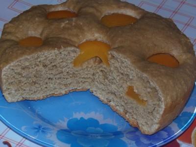 Пирог овсяный с абрикосами - 1.JPG